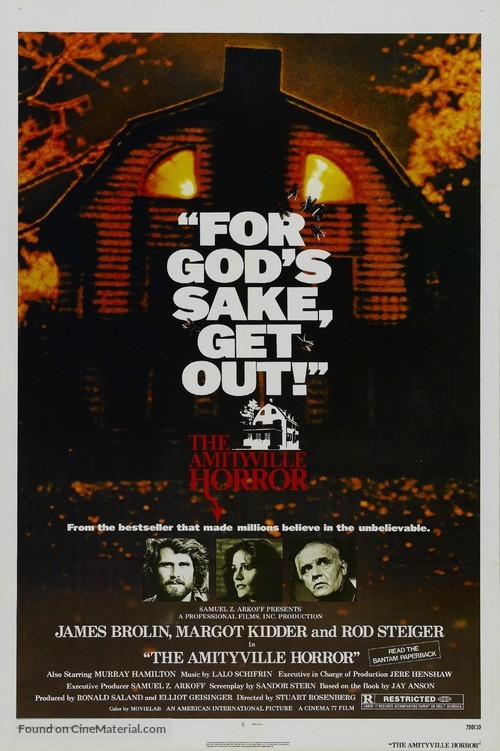 The Amityville Horror - Movie Poster