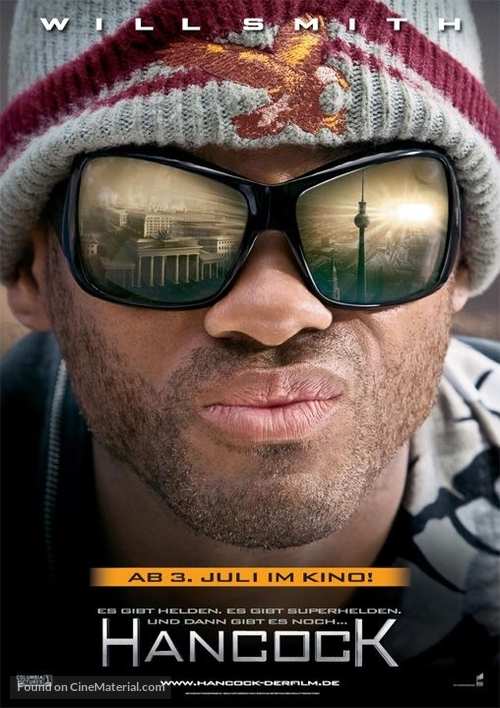 Hancock - German Movie Poster