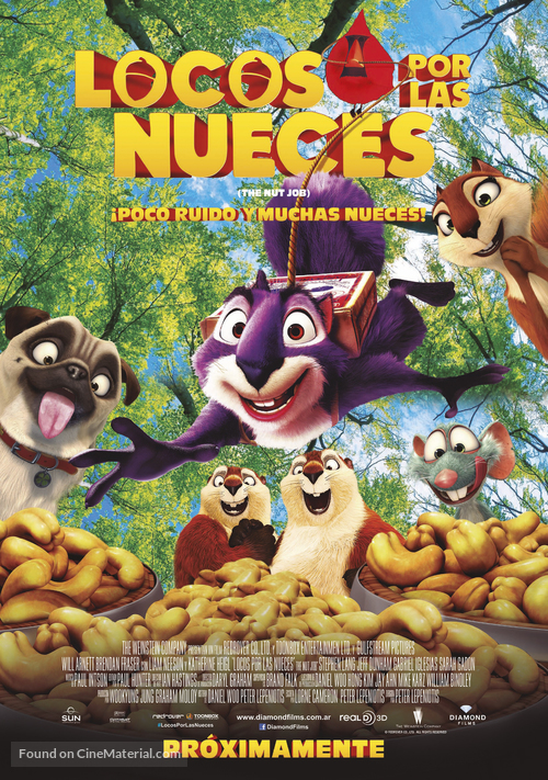 The Nut Job - Argentinian Movie Poster
