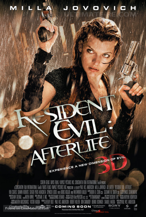 Resident Evil: Afterlife - Movie Poster