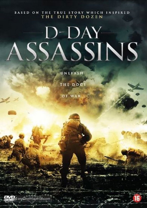 D-Day Assassins - Dutch Movie Cover