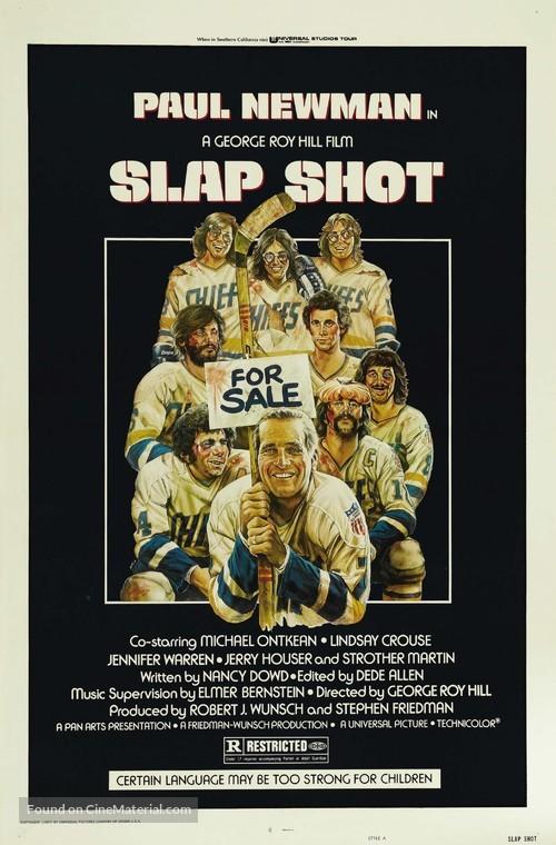 Slap Shot - Movie Poster