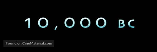 10,000 BC - Logo
