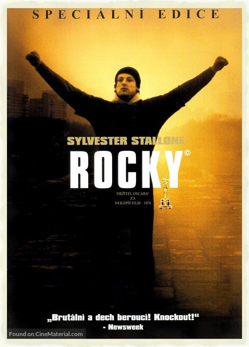 Rocky - Czech DVD movie cover