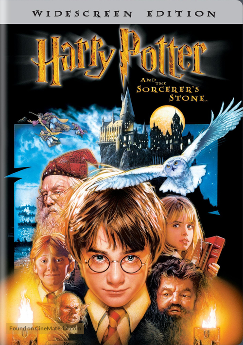Harry Potter and the Sorcerer's Stone - DVD cover