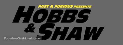 Fast & Furious Presents: Hobbs & Shaw - Logo
