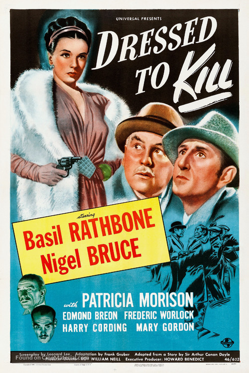 Dressed to Kill - Movie Poster