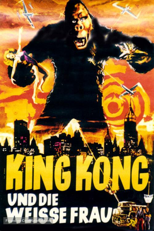 King Kong 1933 German Movie Poster