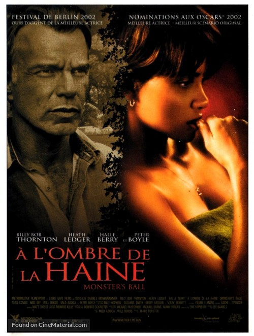 Monster's Ball - French Movie Poster