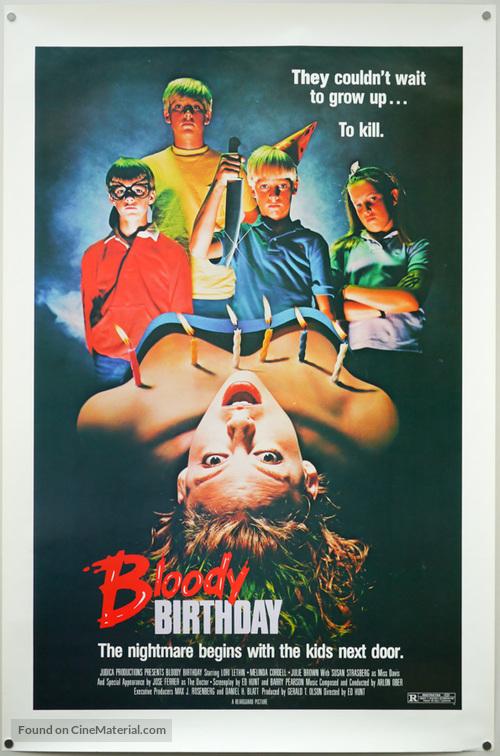 Bloody Birthday - Movie Poster