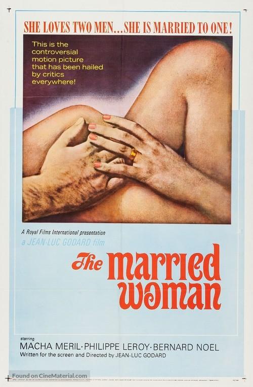 Une femme mariée: Suite de fragments d'un film tourné en 1964 - Movie Poster