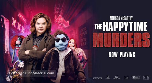 The Happytime Murders - Movie Poster