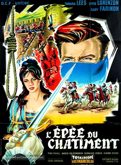 Una spada nell'ombra - French Movie Poster