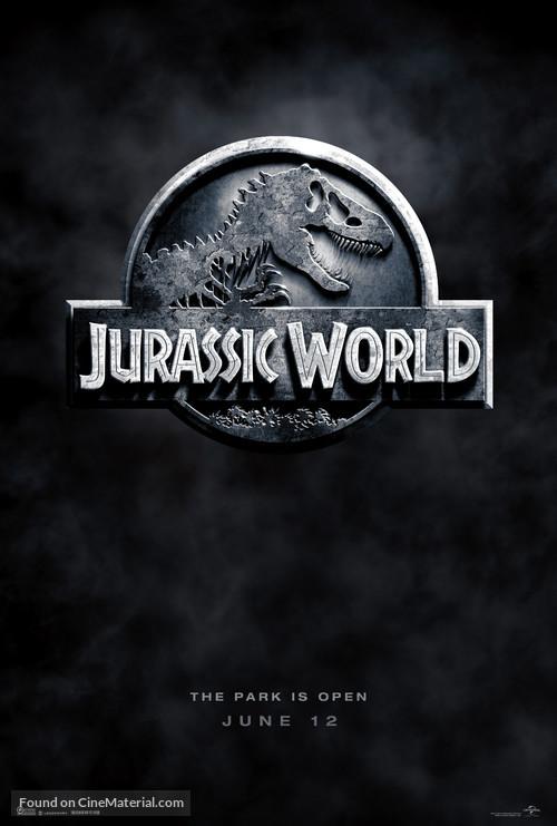 Jurassic World - Teaser movie poster