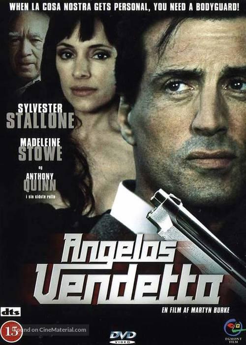 Avenging Angelo - Danish DVD cover
