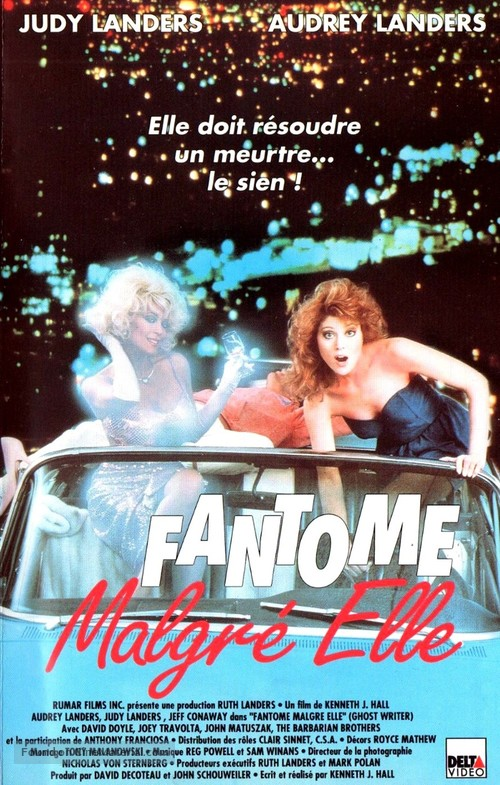 Ghost Writer - French VHS cover