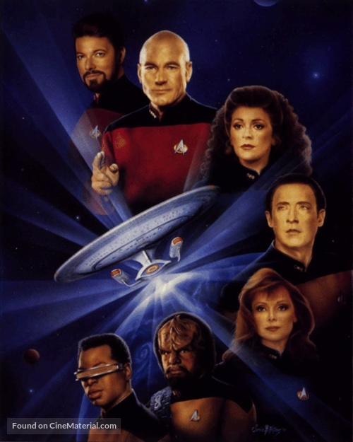"""Star Trek: The Next Generation"" - Key art"