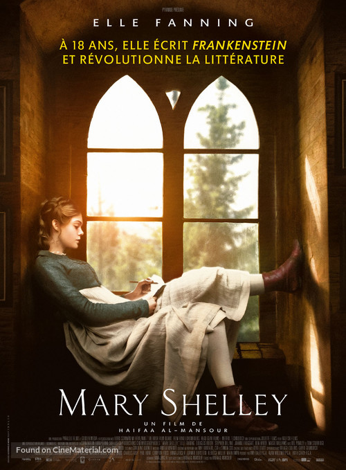 Mary Shelley - French Movie Poster