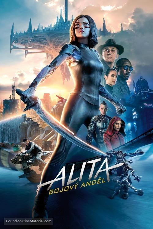 Alita: Battle Angel - Czech Movie Cover