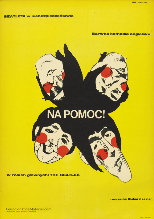 Help! - Polish Movie Poster