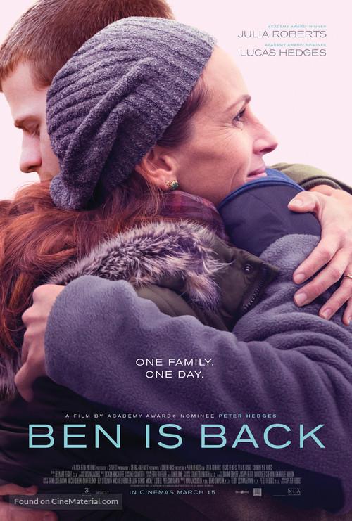 Ben Is Back - British Movie Poster