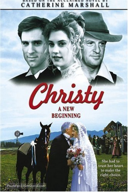 """""""Christy, Choices of the Heart, Part II: A New Beginning"""" - poster"""
