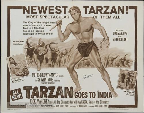 Tarzan Goes to India - Movie Poster