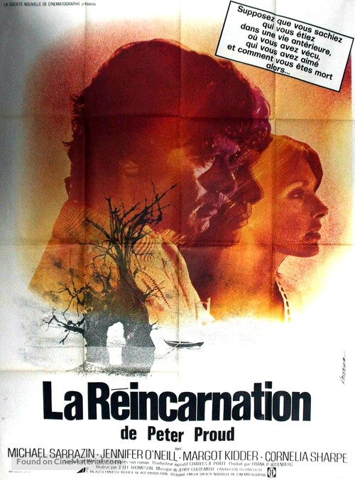 The Reincarnation of Peter Proud - French Movie Poster