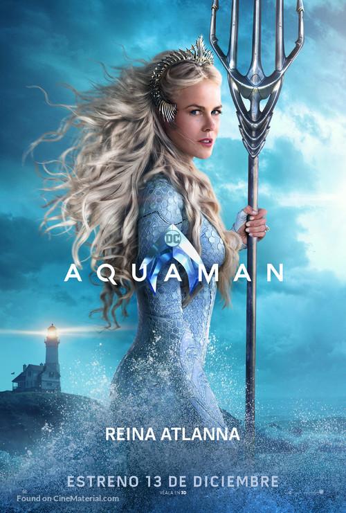 Aquaman - Chilean Movie Poster
