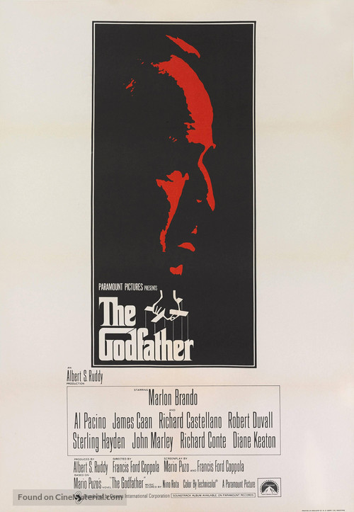 The Godfather - British Movie Poster