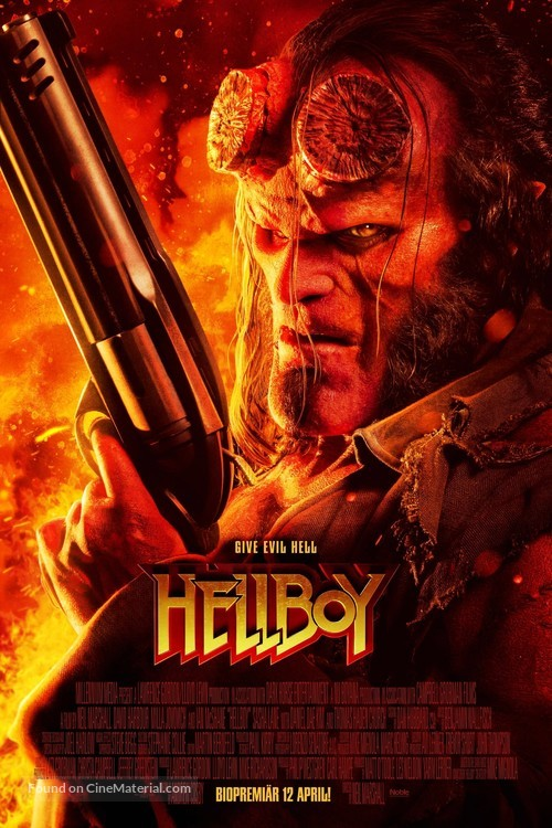 Hellboy - Swedish Movie Poster