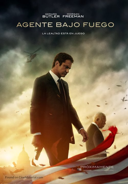 Angel Has Fallen - Colombian Movie Poster