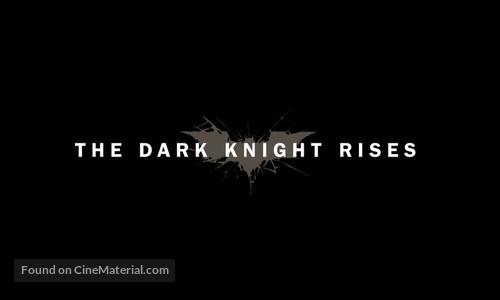 The Dark Knight Rises - Logo