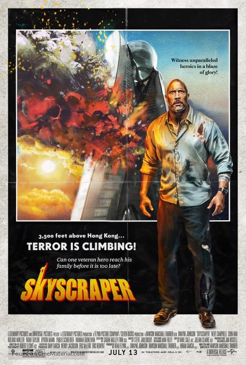 Skyscraper 2018 Full Movie HQ Download Here