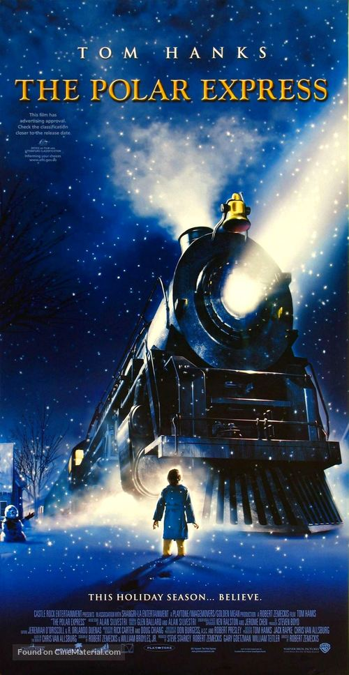 The Polar Express - Australian Advance movie poster