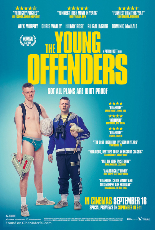 The Young Offenders - Irish Movie Poster