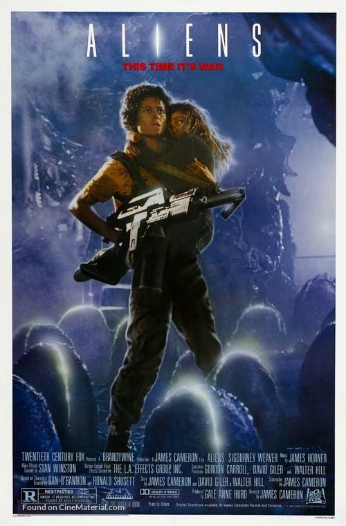 Aliens - Movie Poster