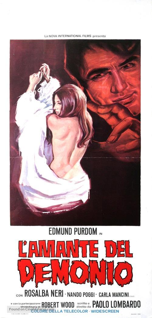 L'amante del demonio - Italian Movie Poster