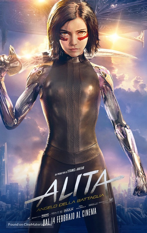 Alita: Battle Angel - Italian Movie Poster