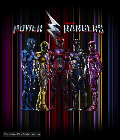 Power Rangers - Movie Cover