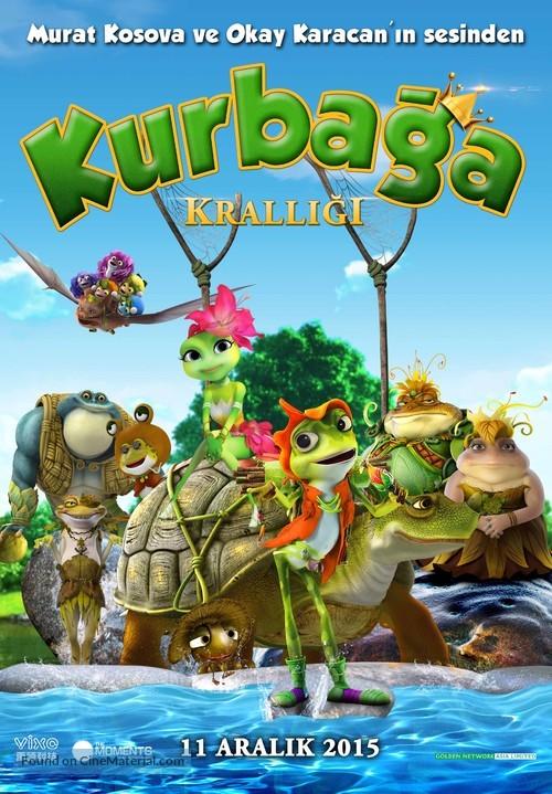 Frog Kingdom - Turkish Movie Poster