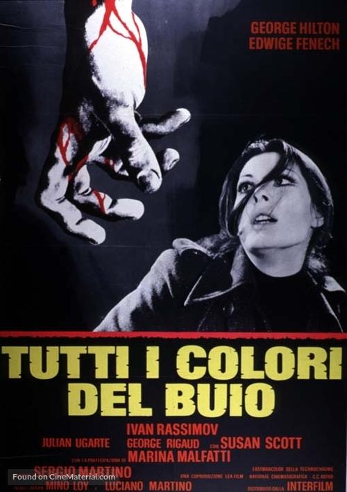 Tutti i colori del buio - Italian Movie Poster
