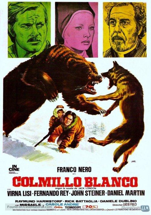 Zanna Bianca - Spanish Movie Poster