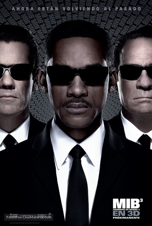 Men in Black 3 - Mexican Movie Poster