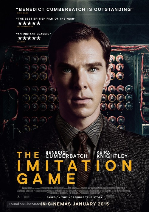 The Imitation Game - Dutch Movie Poster