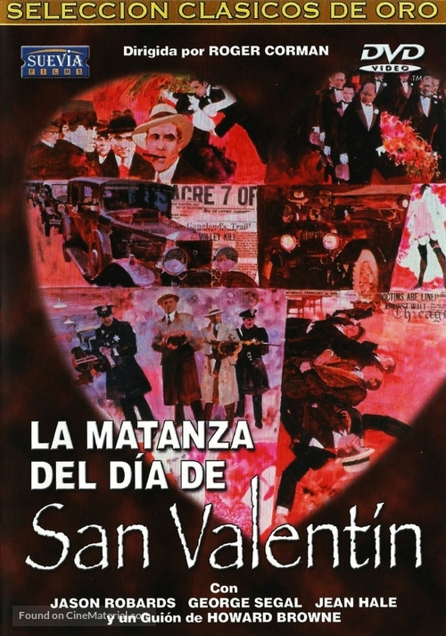 The St Valentine S Day Massacre Spanish Movie Cover