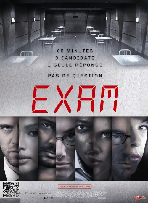 Exam - French Movie Poster