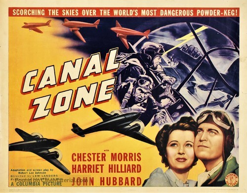 Canal Zone - Movie Poster
