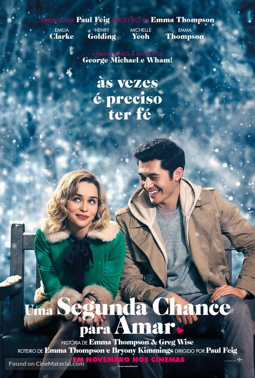 Last Christmas - Brazilian Movie Poster