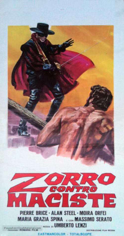Zorro contro Maciste - Italian Movie Poster